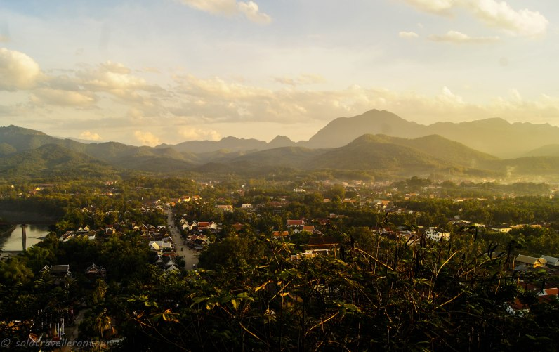 View over Luang Prabang