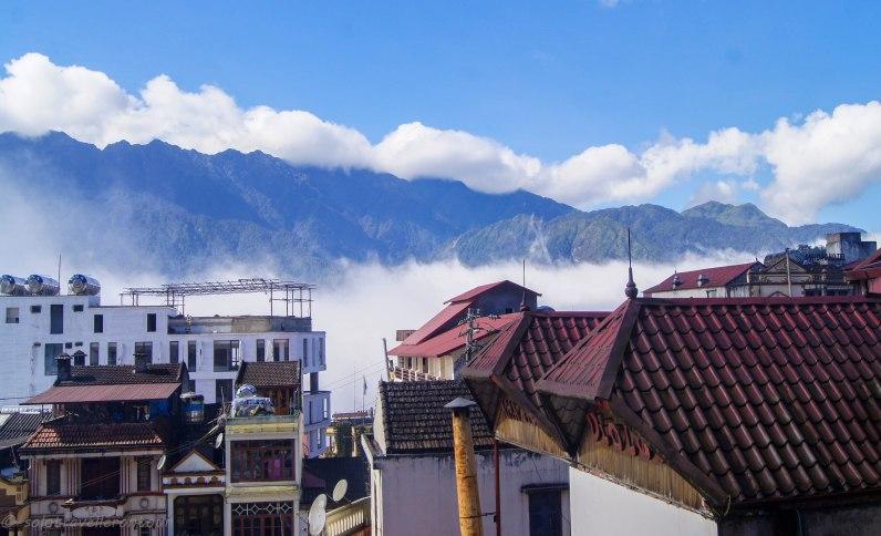 View over Sapa
