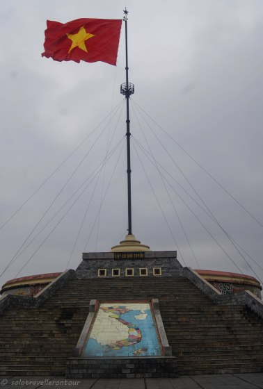The war memorial on the northern side