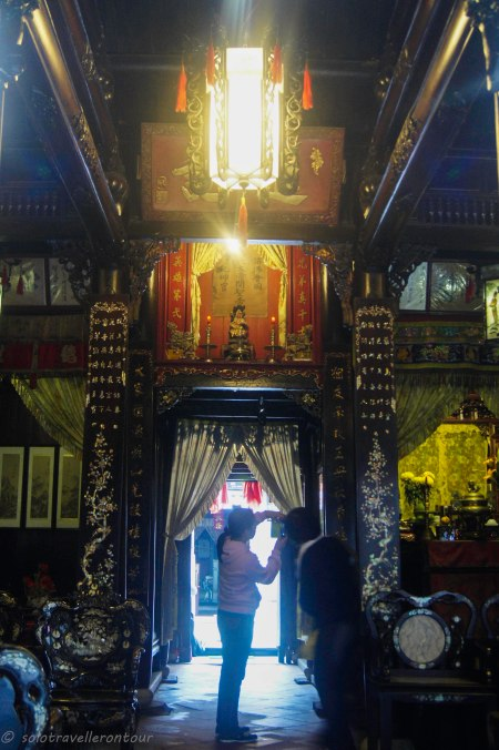 Interior of the Quan Thang House
