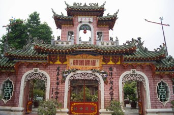 Entry to the Fujan Chinese Assembly Hall