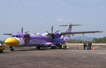 The fancy Nok Air plane