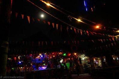 The Reggae bar at Aow Yai beach
