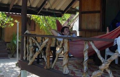 My favourite place - my hammock