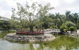 Park of the Ho Chi Minh Temple