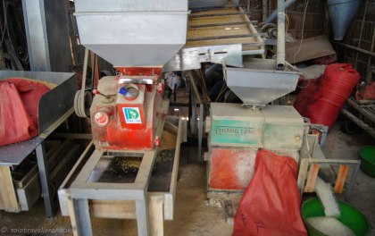 Machine to prepare rice