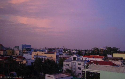 Soc Trang in the evening