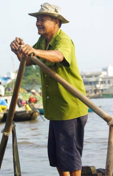 Local boat man