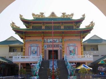 Little local pagoda