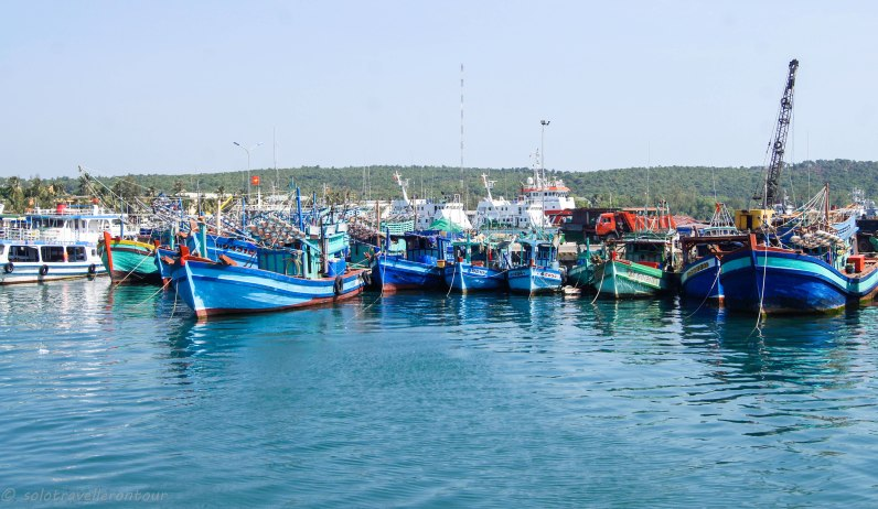 Harbour of Phu Quock