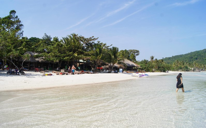 One of the lovely beaches on Phu Quoc
