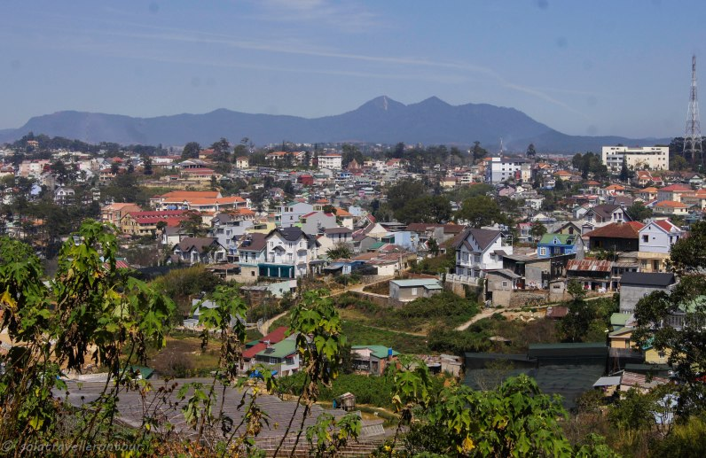View over Dalat