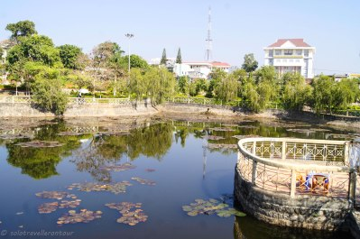 A nice park in the middle of Kon Tum