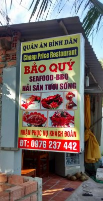 Little Bao Quy is a nice place for dinner - nothing fancy, but delicious food