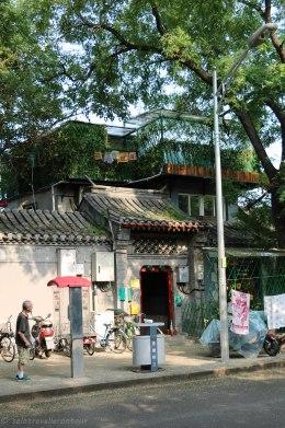 Side street of Beijing