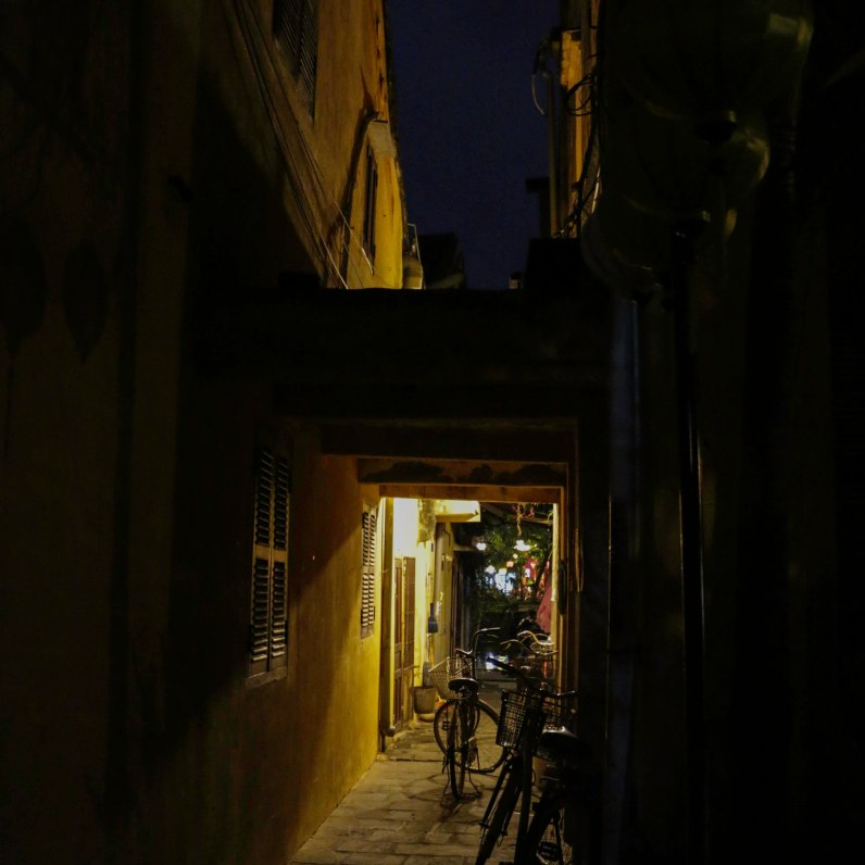 Do not miss the little alleys in the Ancient Town at night - they are just beautiful