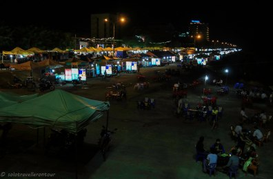 The night food market