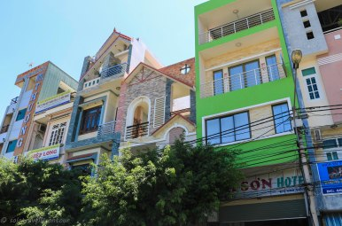 Typical buildings in Quy Nhon