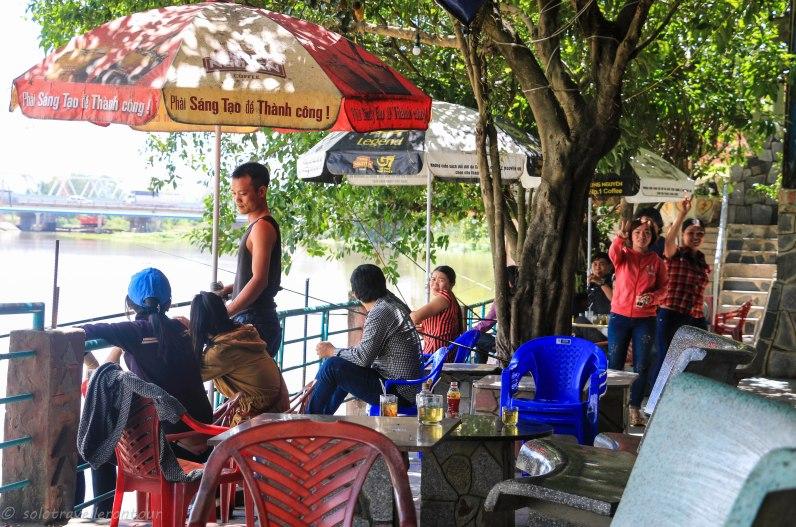 Cafe / fishing spot