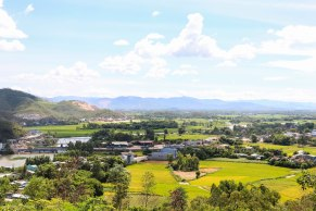 View from Thap Binh It