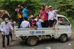 How many locals can you get into one vehicle???