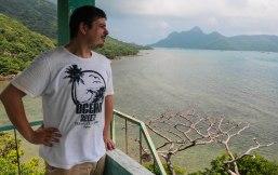 Enjoying the great scenery