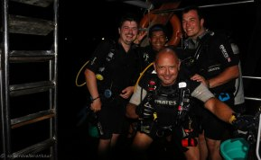 Getting ready fore the last dive