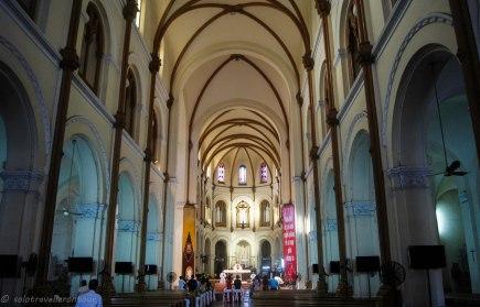 Inside of Notre Dame