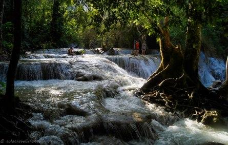 Kuong Si waterfall