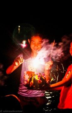 Boun Awk Pansa in Vang Vieng