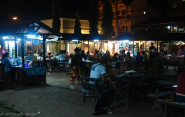 Food court of the night market