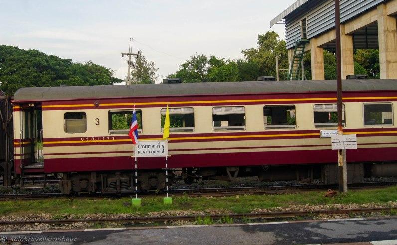 The 3ed class train to Kanchanaburi