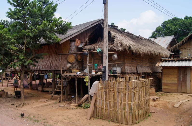 Typical house in an minority village