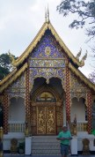 One of the little temples inside the Wat Phra That Doi Suthep