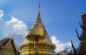 The main stupa of Wat Phra That Doi Suthep