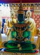 An emerald buddha