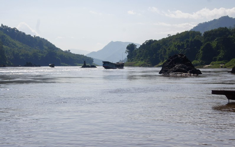 Travelling on the mighty Mekong
