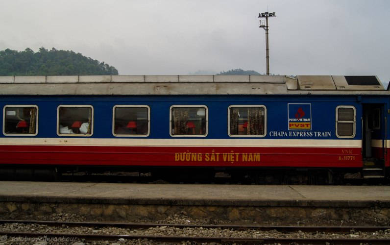 Sleeper train to Sapa