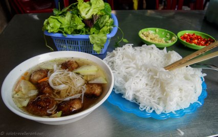 Bun Cha - probably my favourite dish in Vietnam