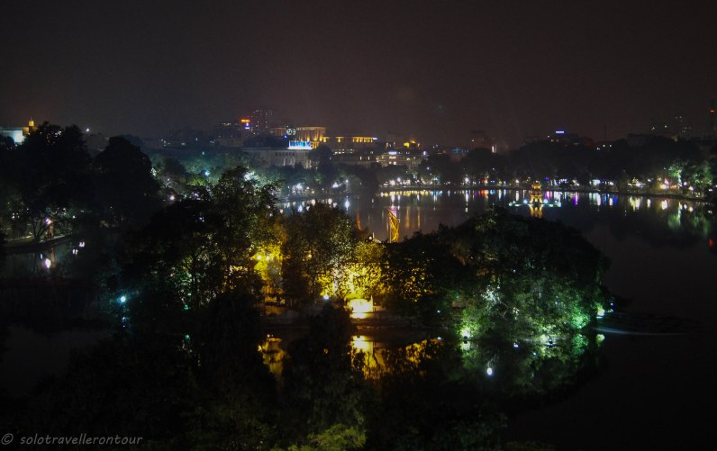 View over Hoan Kiem Lake