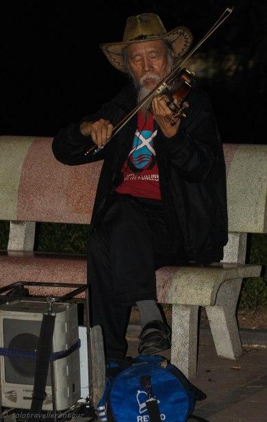 The great Violin player Ta Tri Hai