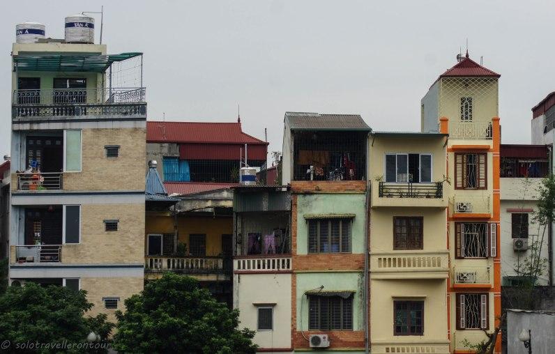 Typical architecture throughout Hanoi