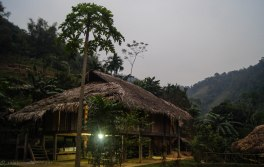 The main house of the homestay