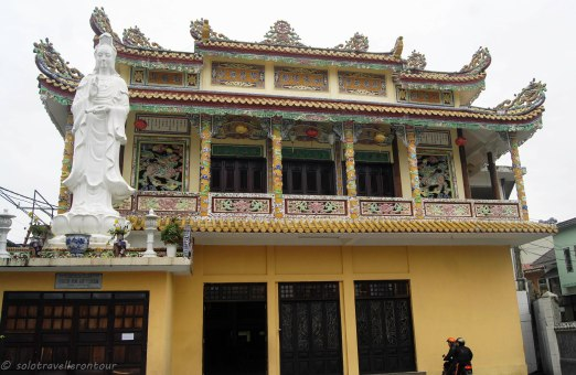 One of the lovely temples you can find throughout Hue