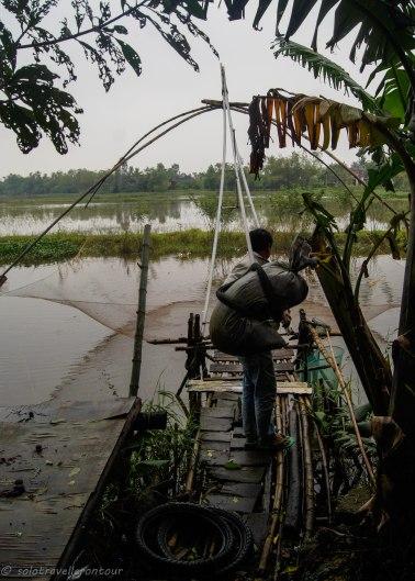 Vietnamese fishing nets