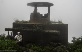 A bunker on top of the Hai Van Pass