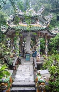 Little pagoda on the mountain