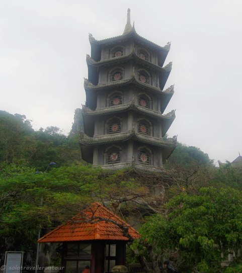 The temple on top of the Marble mountain