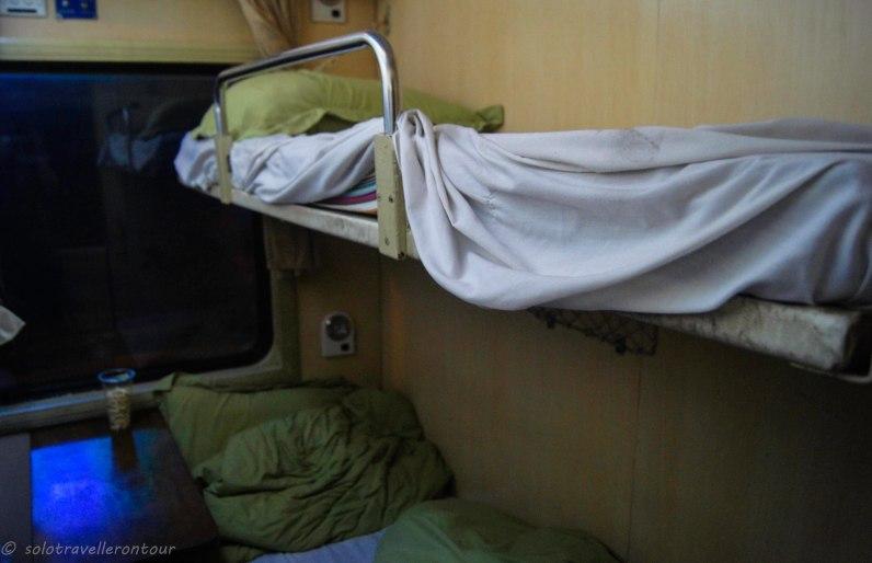 My train compartment