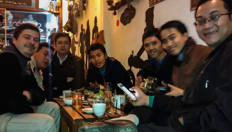 Meeting Vietnamese journalists - and the start of a friendship
